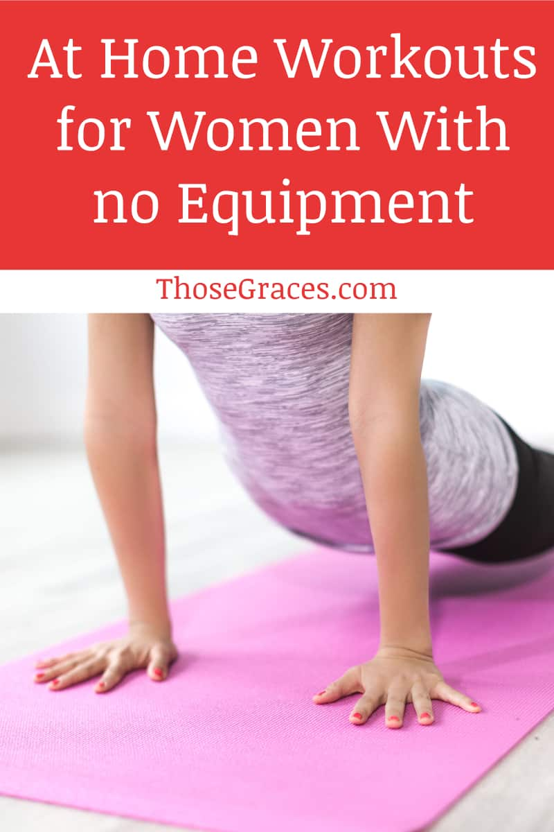 Exercising has a lot of benefits, and there are plenty of workouts that can be done at home by women with no equipment. Read on for a few favorites!