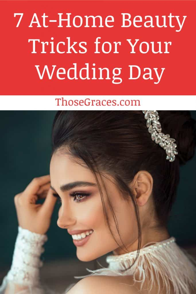 The big day is on and you need to prepare yourself with these at home beauty tricks to prepare for the wedding day! Check them out!