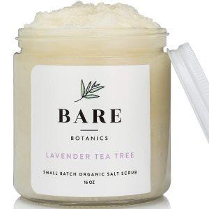 Bare Botanics Lavender Tea Tree Dead Sea Salt Body Scrub