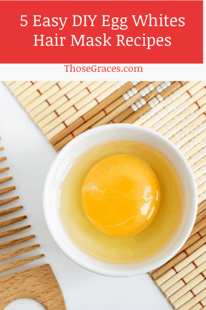 Looking for some easy egg whites hair mask ideas to make at home? Check out 5 ideas that take minutes to make yet leave your hair feeling amazing for days!