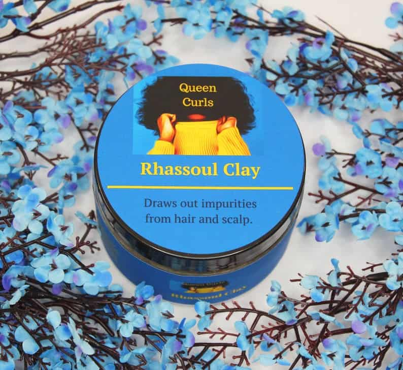 Rhassoul Clay- 8 oz and 12 oz, Healthy hair and skin