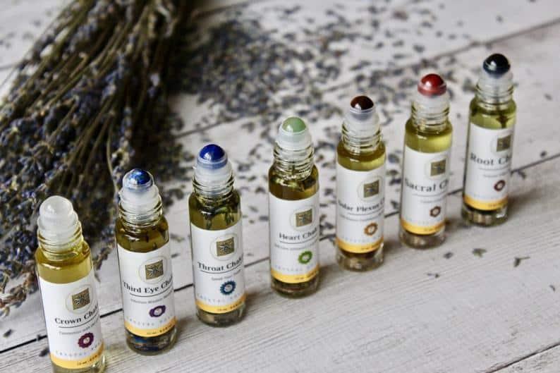 best aromatherapy gifts chakra blend