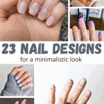 23 minimalist nail designs
