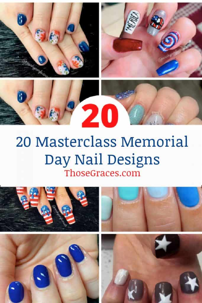 memorial day nail designs b