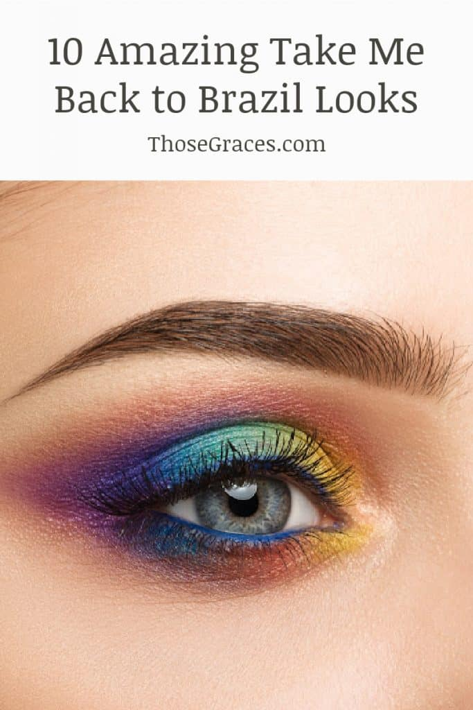 eyeshadow inspired by take me back to brazil looks