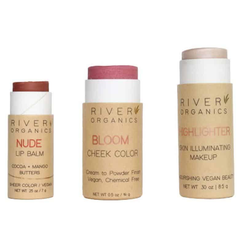 Makeup Set | Lip Balm + Highlighter + Blush