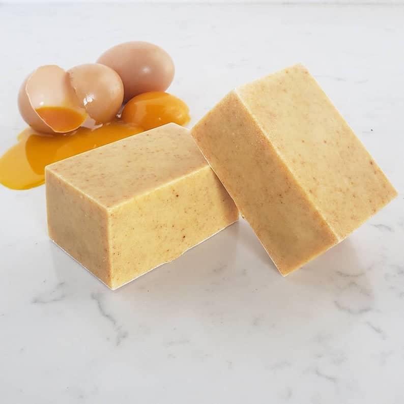 Organic Egg Yolk Shampoo Bar