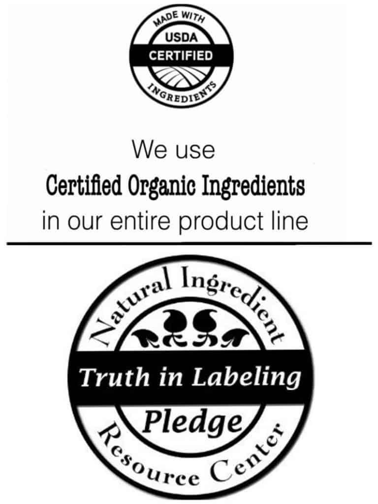 Organic Make-up Set + Free Cotton Bag natural ingredients