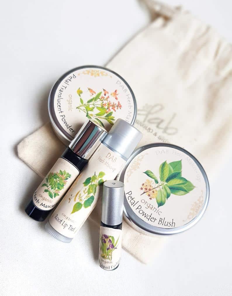Organic Make-up Set + Free Cotton Bag