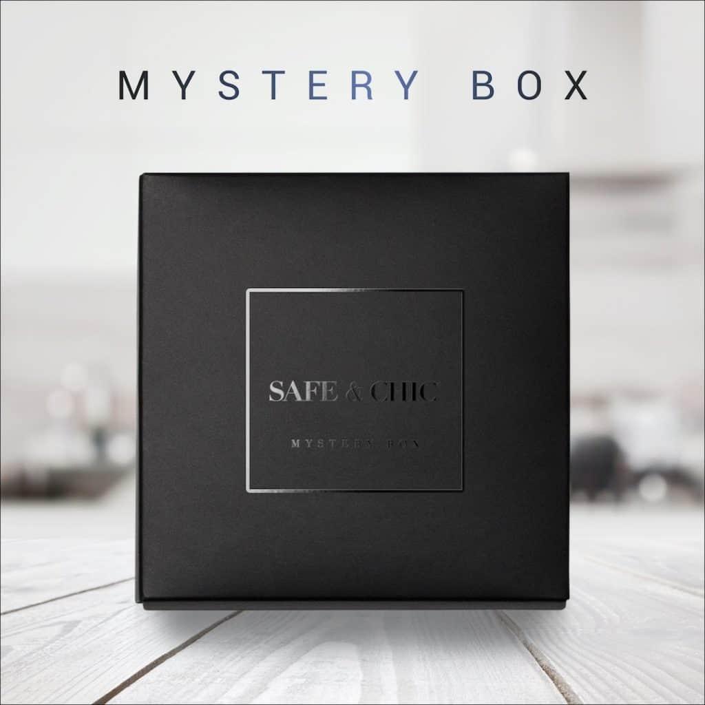 Safe & Chic Mystery Beauty black Box
