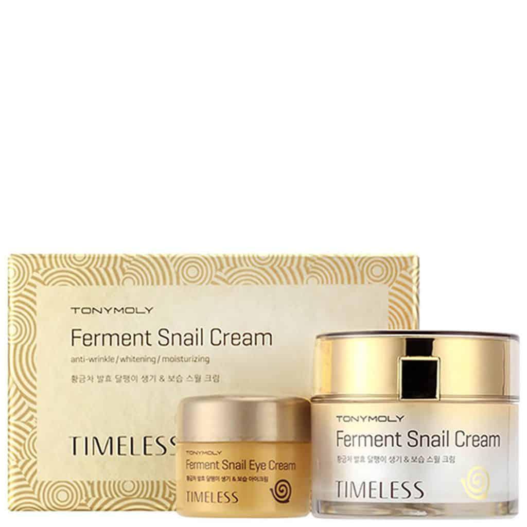 TonyMoly Timeless Ferment Snail Cream Kit