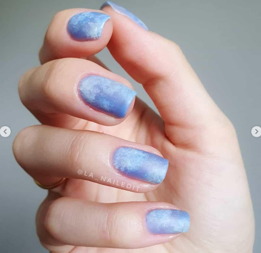sea glass nails