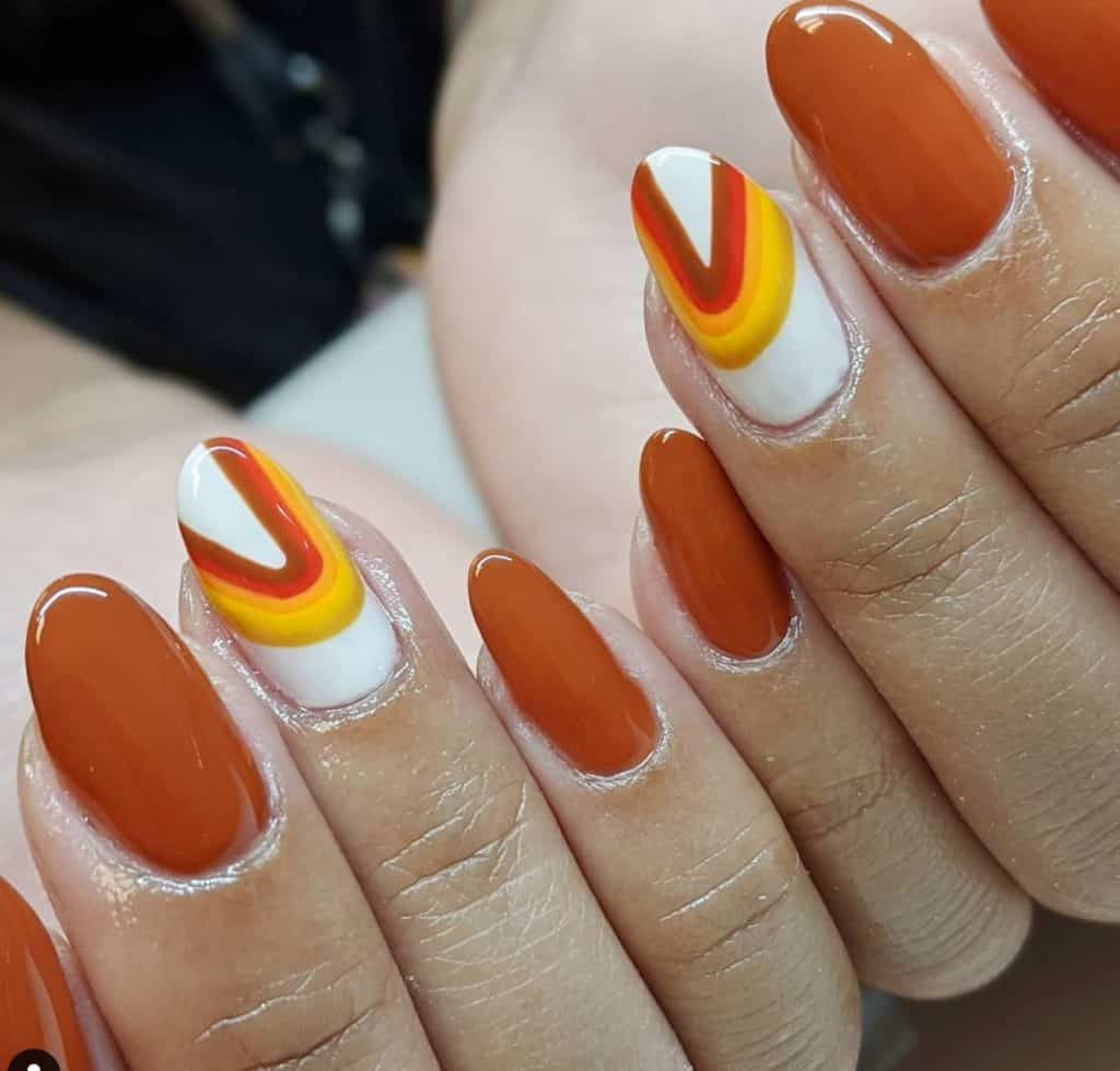 moondust nail design