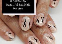 13 Absolutely Beautiful Fall Nail Designs