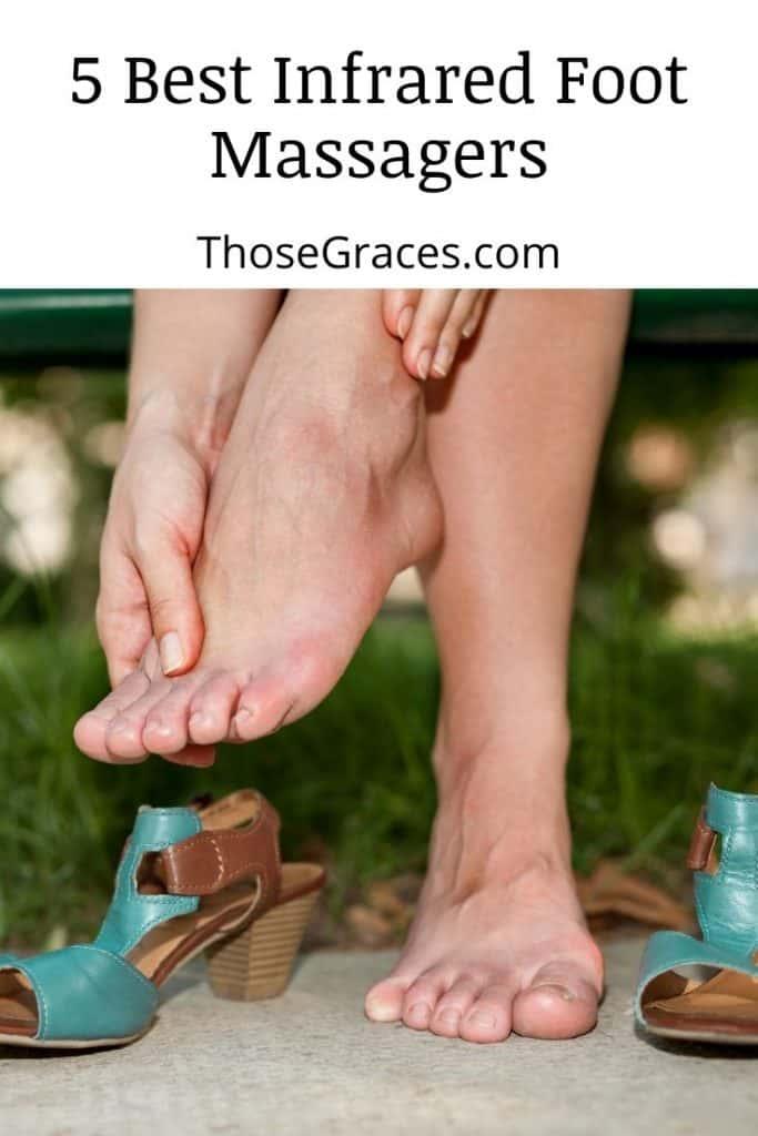 lady's aching feet