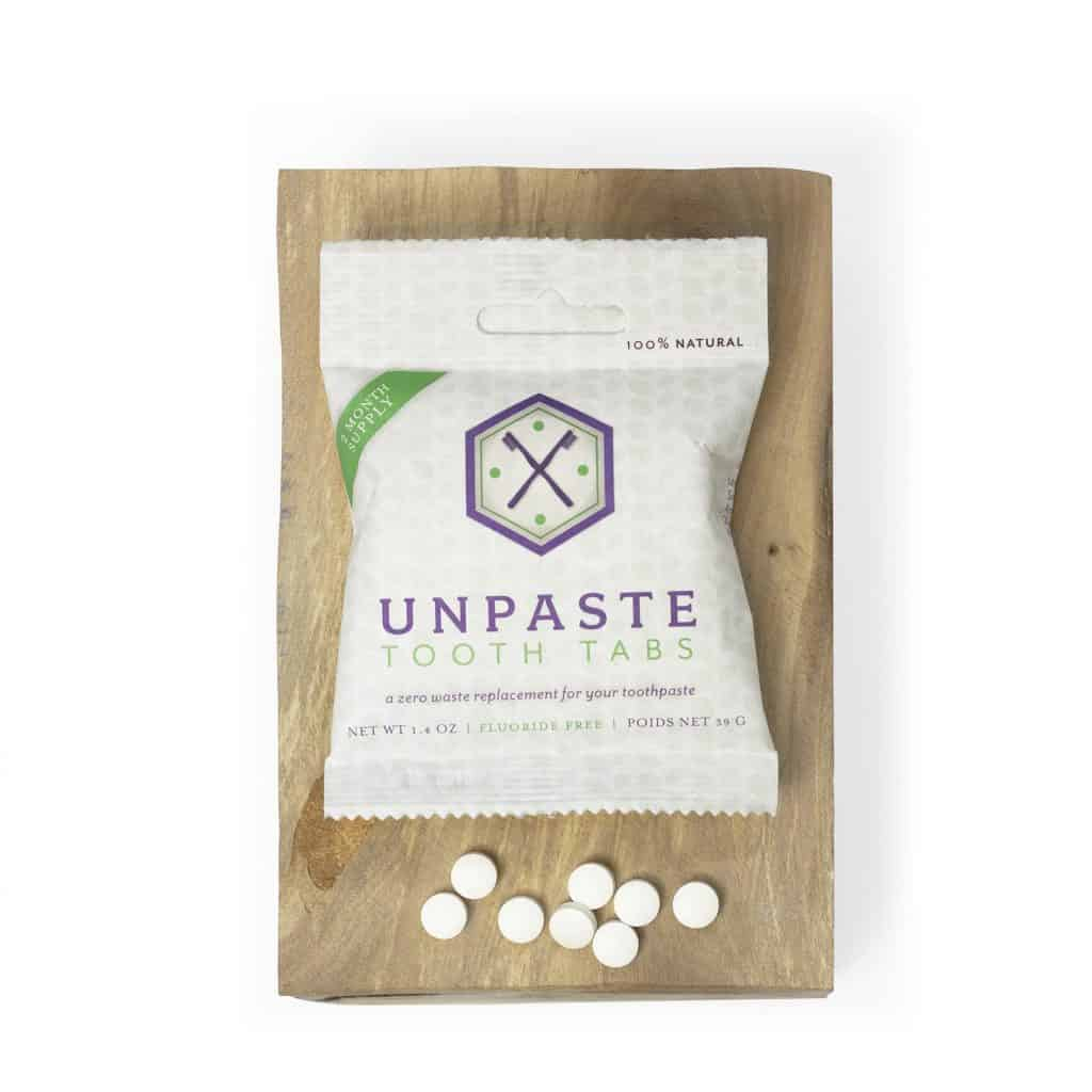 unpaste tooth tabs zero waste
