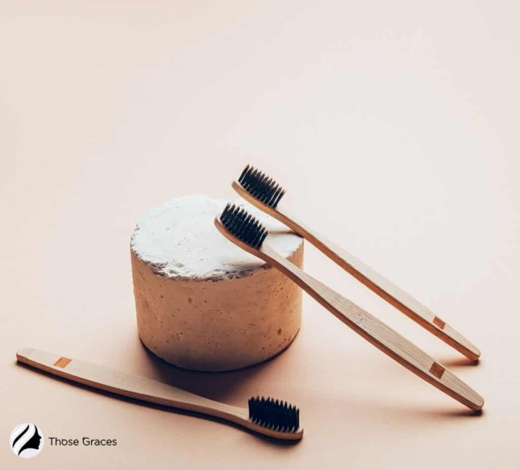 zero-waste toothbrush and toothpaste