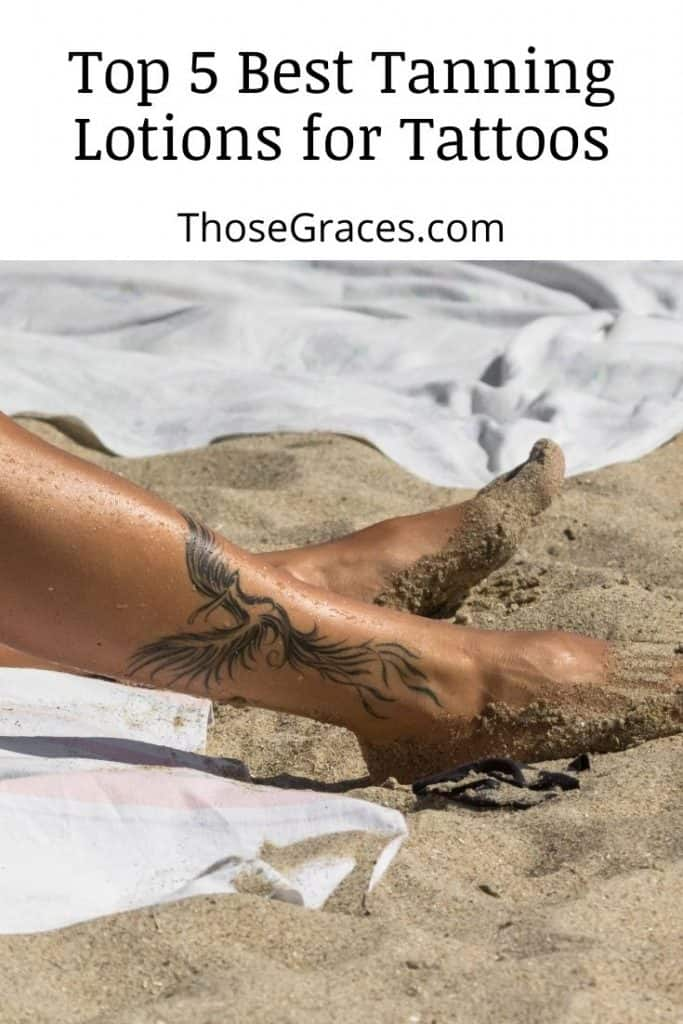 close-up shot of a legs with tattoo