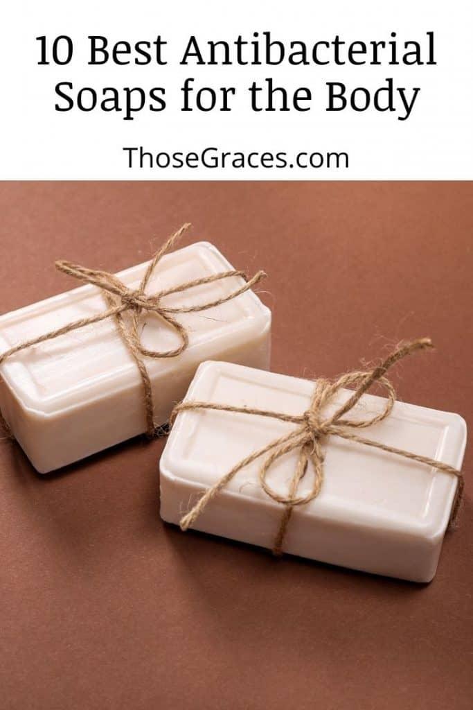 antibacterial soaps with ribbon