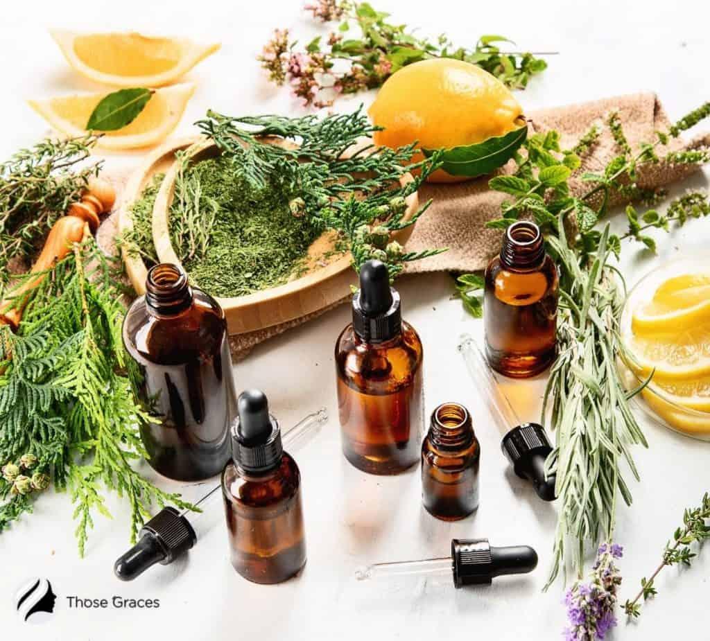 lemon essential oils for skin tightening