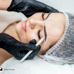 brow measurement fot microblading